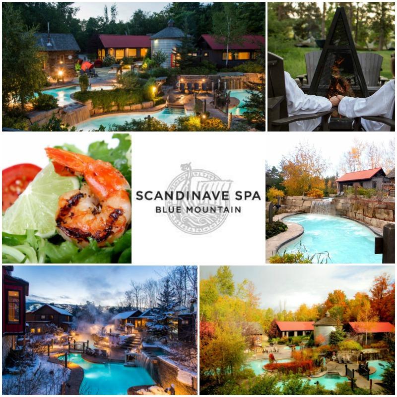 Scandinave Spa Blue Mountain Ontario