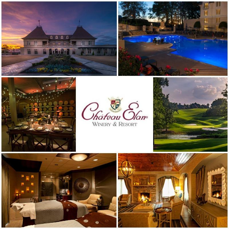 Chateau Elan Inn Spa Winery Golf Braselton Georgia