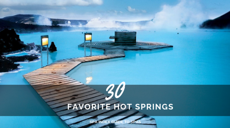 Hot Springs Mineral Springs Balneotherapy A Good Soak